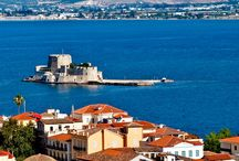 Nafplion - the first capital of modern Greece / The magical town of Nafplion in the Peloponnese Greece. The historical old town is just 15 minutes along the coast from Stork Apartments in Vivari