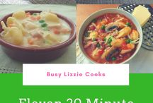 20 minute recipes / Recipes that can be made in no more than 20 minutes from start to finish. Please pin 2 recipes for every one you add. To contribute please email info@busylizziecooks.com and follow me and htis board.