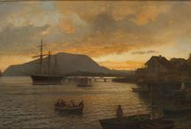 Hans Fredrik Gude / (født 13. mars 1825 i Christiania, død 17. august 1903 i Berlin) var en norsk maler. Gude var en av Norges viktigste nasjonalromantiske malere. «Høifjæld» fra 1857 regnes som hans hovedverk.