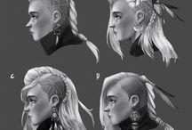 Character Design//Vikings