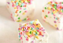 Rainbow pastel sprinkle