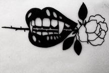 Dracula's tattoo