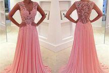 Chiffong klänningar