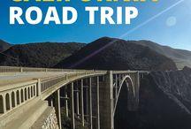 Viaggi su strada in california