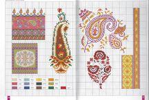 crosstich geleneksel motif