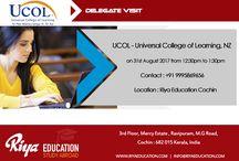 UCOL Delegate Visit at Riya Education