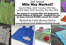 May Milo Market!!! / Special event market for Milo vests from knitting WAHMs around the world!  Only at www.facebook.com/LittleBrownOwlHandmade. Was open Wednesday 29th May 2013 to Friday 31st May 2013. Stay tuned for details about May Milo Mania 2014!! / by Lori Howlett