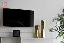 Living Room Ceramic Complements / Interior design complements for the living room, italian ceramics manufacturing.