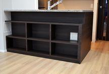 カウンター下収納・Furniture under the counter