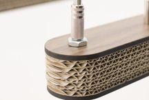 Design lighting - Made of cardboard!
