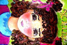 mis ilustraciones de HEIDI