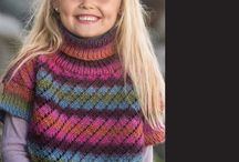 Kid-Girls to Teens        Knits / Also see Childs Unisex Knit Patterns. / by K. Makgill