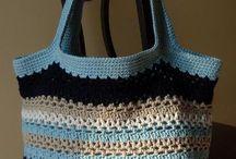 Crochet:Bags & Baskets / Purses, totes, baskets, phone cases / by Julie Hamaker