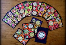 Artist trading cards design