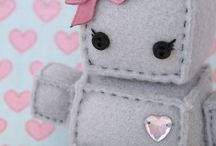 Robots / Everything robots - Robot toys, robot clothes, robot craft, robot party ideas, robot cakes for babies, toddlers and kids.