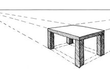 Furniture Drawing in Perspective