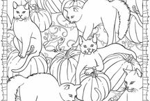 Coloriage adultes / Adults colorings