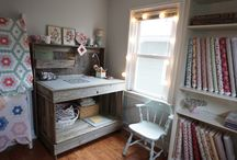 Sewing Tables / Cutting boards, tables, machine stands....all those fun things we have to make our sewing easier!