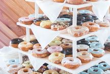 Donuts display