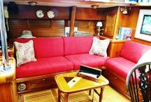 Floating Home Inspiration / Decorative, organizational, practical ideas for living aboard our sailboat