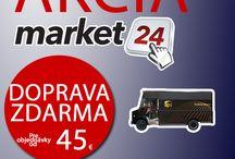 Doprava zdarma pri nákupe už od 45 Euro na www.market24.sk / Doprava zdarma na www.market24.sk - od štvrtka 17.9. do nedele 20.9.2015 nakúpte nad 45 EUR a pri platbe prevodom vopred máte doručenie zdarma.