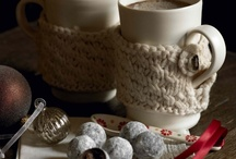 Keeping Warm - with cups! / It's winter, so here are ways that our cups are keeping up warm