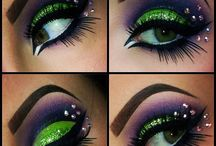 Dance makeup & hairstyles