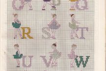 Cross Stitch Alphabet  2