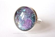 Kitty Ballistic's Jewellery  / Colourful bead, button and painted glass jewellery / by Kitty Ballistic