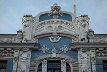 Riga / Die lettische Hauptstadt Riga ist ein attraktives Ziel für einen Kurztrip. Im Stadtkern findet man über 800 Jugendstilgebäude.
