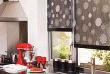 Blinds for the Kitchen / Elegant styled window blinds for the kitchen area.