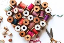 Autour de la couture et des petits boutons / by Cécile Lartigau