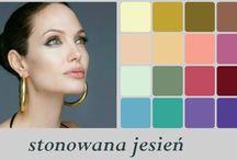 Zgaszona Jesień / analiza koloru