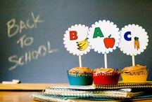 Back-to-School Cupcakes / Mom's favorite holiday.  Celebrate with cupcakes!