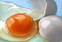 Eten schilderen
