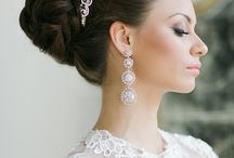 Bridal Hair Designs / The style of hair for a #bride is a focal point of her #beauty.