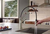 #MyeFaucetsLuxury by Brizo / Kitchen faucets so beautiful and functional, you'll wonder how you got along without them!  #MyeFaucetsLuxury