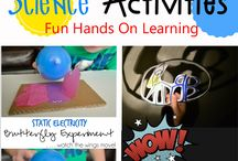 Preshool science activities