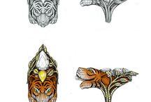 disegni a mano gioielli