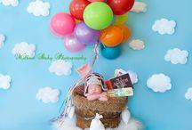Disney & Pixar newborn photo sessions