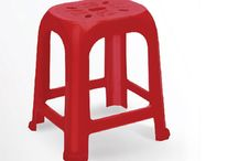 Oval single series stools / Stools for different usages