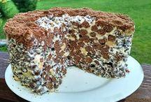 sütés nélküli torták