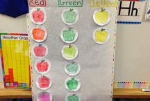 preschool- apples