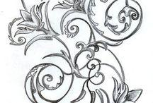 Thigh tattoo designs