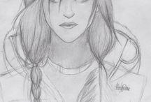Art, draw, painting