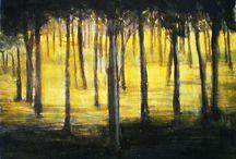 Small size paintings / Artwork by Katerina Nikoloudi Mandila