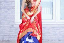 Cancan Saree Drapes