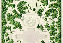 Ogrody swobodne / Tradycyjne i nowoczesne ogrody o miękkich i swobodnych kształtach.