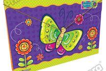 Carpetas Flower Power / Línea Escolar Primavera Regresa a Clases con TODO