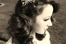 Vintage hair / A selection of vintage hair ideas.